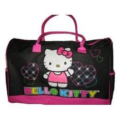 7d3d4671d07 Hello Kitty Rolling Duffle Bag   found  Hello Kitty Large Duffle Bag  on  Wish