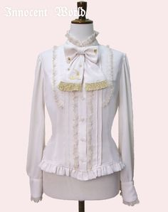 Innocent World Moons and Stars Embroidery Blouse
