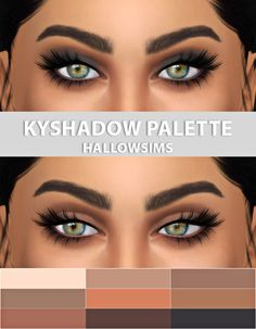 KYSHADOW Palette at Hallow Sims via Sims 4 Updates