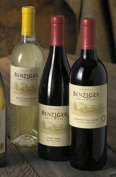 Benzinger | Wine Label Design by Auston Design Group