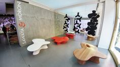 Mogu chair by Ma Yansong at Milan design week