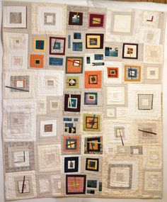 Colours and design love this quilt cross design a modern take on an old favorite