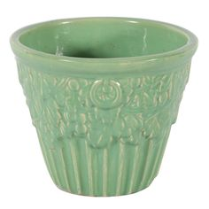 McCoy Pottery Green Jar