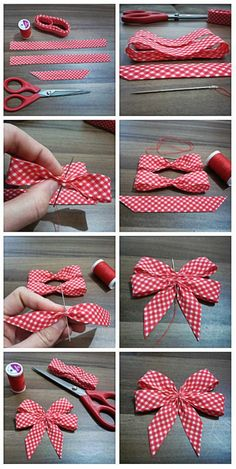 DIY Tutorial DIY Ribbon Bow / DIY Ribbon Bow - Bead&Cord