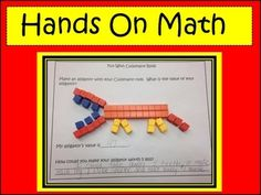 Students love this activity.  There are 10 different printables included in this packet.  Students are asked to create something, using their Cuisenaire rods, list the value of that object, and then extend their thinking by coming up with a way to make the object worth more or less.