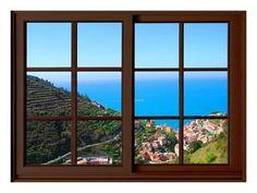 View from the Window at Cinque Terre Reproduction procédé giclée par Anna Siena sur AllPosters.fr