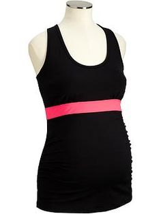 $24.94 - Maternity Active Banded-Compression Tanks
