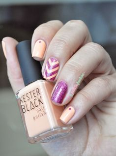 PInk and peach rafters - Kester black Peach melba