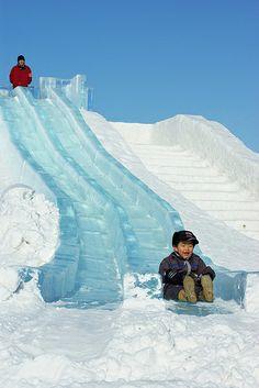 The Abashiri snow festival, Janne Moren