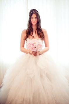 Alice in Wonderland Inspired Shoot by Tamara Lockwood + Shealyn Angus // Bride's Dress: Ines di Santo