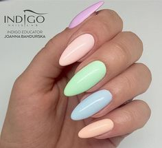 New Colours Collection from Natalia Siwiec #nails #nail #pastel #new #natalia #siwiec #indigo #omg #spring #wow