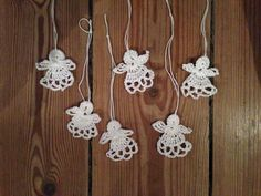 Hæklede engle - hæklet julepynt Opskrift fra: http://atty-s.blogspot.nl/2015/12/crochet-christmas-angels.html?m=1