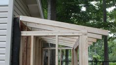Learn How to Build Rafters for a Shed. This complete guide will teach you how to plan, design, cut and install rafters by yourself. Ridge Beam, Shed Floor, Gable Roof, Roof Deck, Building A Shed, Wood Screws, Beams, Pergola, Gazebo Ideas