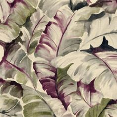 Purple Batik Leaves Wallpaper, SBK23848