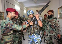 Chinese and Pakistani marine special force corps. Marines Chinos y Pakistanies