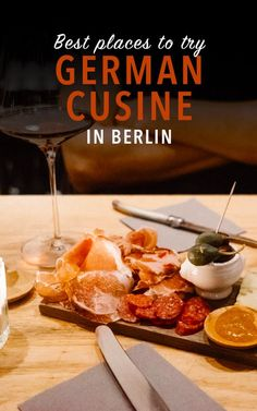 Berlin tips for where to eat German food. Use this food guide to Berlin to decide where to sample local cuisine when you travel to Berlin!