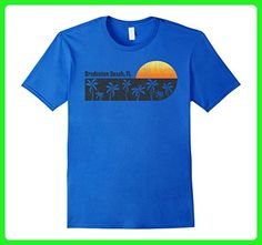Mens Retro Bradenton Beach, FL T-shirt Florida Beach Shirt Medium Royal Blue - Retro shirts (*Amazon Partner-Link)