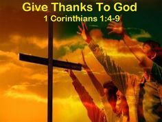 Good Morning from Trinity, TX  Today is Friday November 20, 2015   Day 324 on the 2015 Journey   Make It A Great Day, Everyday!   Give Thanks To God   Today's Scriptures:1 Corinthians 1:4-9-6 https://www.biblegateway.com/passage/?search=1+Corinthians+1%3A4-9&version=NKJV I thank my God always concerning you for the grace of God which was given to you by Christ Jesus,... Inspirational Song https://youtu.be/ykxYTpkY-S8