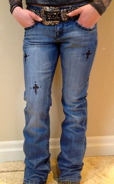 Cowgirl Tuff | Rockstar Black | Jeans | Dirt Road Denim