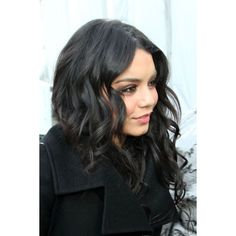 Vanessa Hudgens At The 2011 Mercedes-Benz Fashion Week|Vanessa Hudgens... ❤ liked on Polyvore featuring vanessa hudgens, hair and vanessa hudgens.