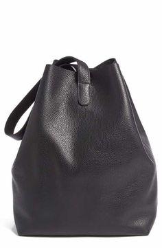 Creatures of Comfort Medium Pebbled Leather Apple Bag