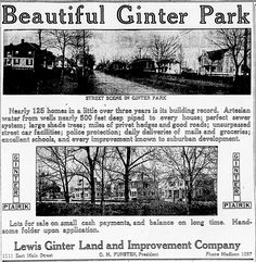 From the May 1910 issue of The Times-Dispatch comes this ad for Ginter Park, one of Richmond's first streetcar suburbs. Virginia History, Shade Trees, Richmond Virginia, More Pictures, Historical Photos, Small Towns, Past, Places To Visit, Highlights