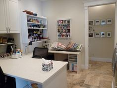 My Craft / Laundry Room  I love having a Craft Room!!!  I am so grateful.