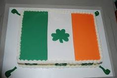 Image result for irish flag cake