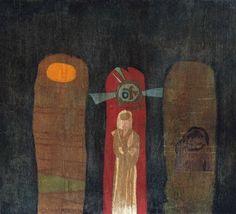 BÁLINT Endre: Angyal Painting, Art, Art Background, Painting Art, Kunst, Paintings, Performing Arts, Painted Canvas, Drawings