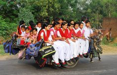 And you thought that yellow school buses were unsafe?