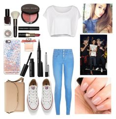 """Shout-Out To: amella-16"" by qwerty-16-polyvore ❤ liked on Polyvore featuring American Apparel, New Look, Converse, Zoya, Forever 21, Chloé, Marc Jacobs, Bobbi Brown Cosmetics, Payne and Casetify"