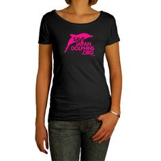 EcoJoia | Women's Wild Dolphin Jump Tee - Dark Gray  http://www.ecojoia.com/index.php/stores/partner-all/sjd/sjd