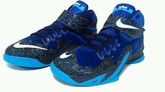Nike lebron soldier 8 mens size 11 light use basketball premium