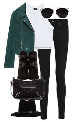 """Untitled #2707"" by angieswardrobe ❤ liked on Polyvore featuring Yves Saint Laurent, Zara, Balenciaga and rag & bone"