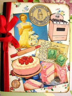this blog is full of vintage eye candy journal inspiration