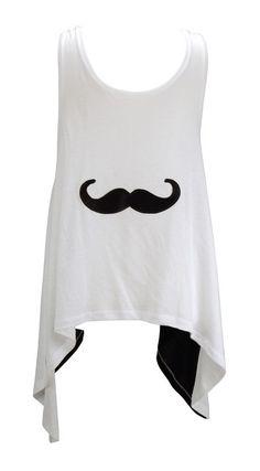 Moustache Shirt - Camiseta mostacho