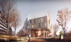 C.F. Møller Wins Competition for Active-Learning School in Copenhagen