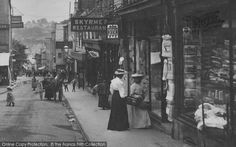 Chepstow, Shopping In The High Street 1906, from Francis Frith
