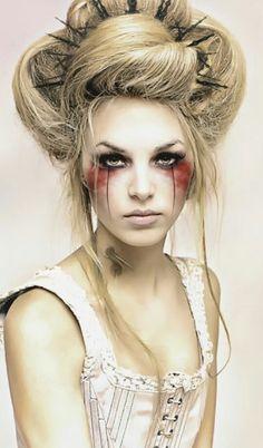 Ladys halloween xxx airbrushed