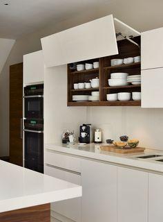 Roundhouse white high gloss Urbo bespoke kitchen