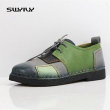 Tendance Chaussures 2017/ 2018 :    Description   US $27.88 Women's Handmade Shoes Genuine Leather Flat Lacing Mother Shoes Woman Loafers Soft Single Casual Shoes Women Flats. Aliexpress product    - #Chausseurs https://madame.tn/fashion/chausseurs/tendance-chaussures-2017-2018-us-27-88-womens-handmade-shoes-genuine-leather-flat-lacing-mother-shoes-wo/