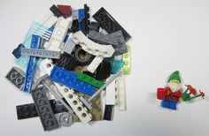 50+ LEGO Pieces With Custom Minifigure Old Dwarf Washed and Sanitized NEW (WF20) $0.99 Free Shipping Auction on ebay