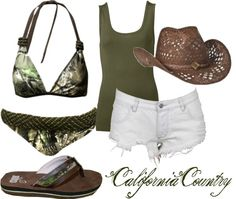 """""""Realtree APG Swim"""" by californiacountry on Polyvore"""