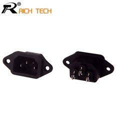 $4.21 (Buy here: https://alitems.com/g/1e8d114494ebda23ff8b16525dc3e8/?i=5&ulp=https%3A%2F%2Fwww.aliexpress.com%2Fitem%2FNew-Hot-Selling-10-Pcs-Black-3-Pins-IEC320-C14-Inlet-Power-Plug-Socket-AC-250V%2F32745642108.html ) New Hot Selling 10 Pcs Black 3 Pins IEC320 C14 Inlet Power Plug Socket AC 250V 10A 10pcs/lot for just $4.21