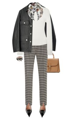 . by fashionmonkey1 on Polyvore featuring polyvore, fashion, style, Brock Collection, Bally, RED Valentino, Burberry, Alexander McQueen and clothing