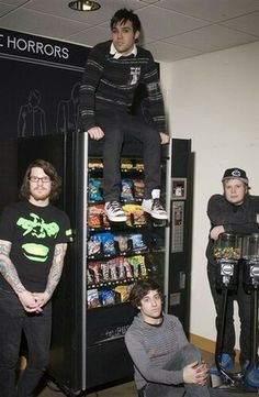 I would really like some explanation for old fall out boy photoshoots