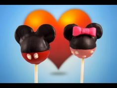 M-I-C-K-E-Y Mouse! Adorable, easy Mickey Mouse cakepops made with basic ingredients!  If you love this tutorial, SUBSCRIBE so you don't miss our Minnie Mouse tutorial, and 3 NEW videos every week!    Tools & Equipment:  Lollypop sticks  Toothpick (cocktail stick)  2 spoons  Knife    Ingredients:  Red candy melts (melted)  Black candy melts (melted)  White c...