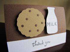 Milk and Cookies Party Favor Bag Toppers by ScrapYourStory on Etsy, $1.00