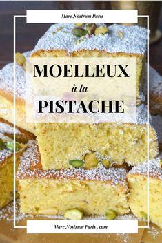 Gâteau Moelleux aux pistaches