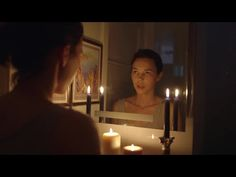 As we head into Halloween weekend, let's prime our spirits with the techniques of suspense! I posted 6 spooky spoopy short films for y. Real Bloody Mary, Spirit Halloween, Happy Halloween, Victorian Style Bathroom, Mirror With Lights, Inner Child, Bathroom Styling, Dares, Candle Sconces